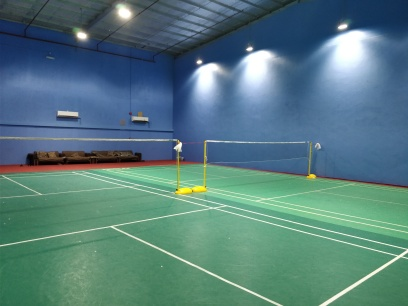 Indian Badminton Club Side Courts